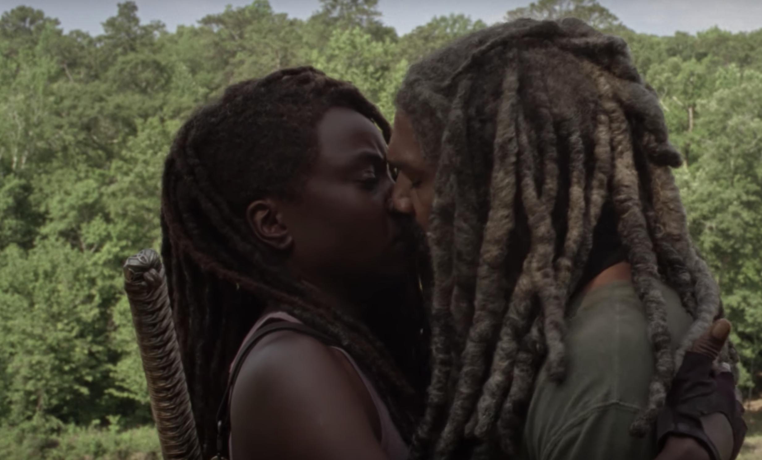 Michonne e Ezekiel