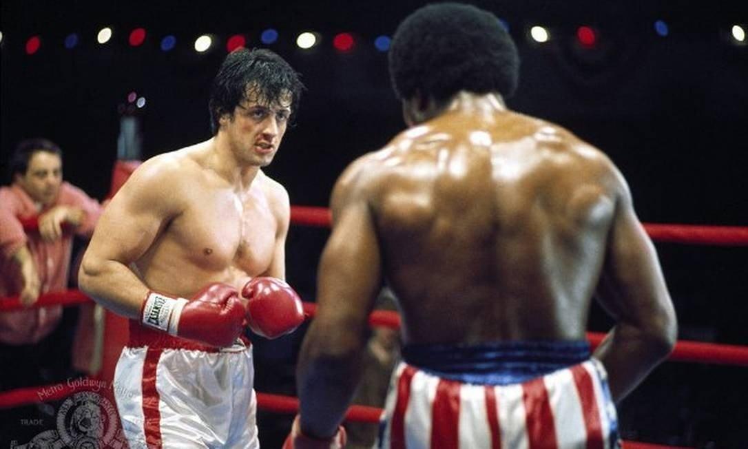 Sylvester Stallone como Rocky Balboa